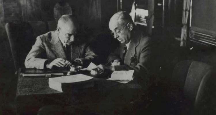 Atatürk ile Celal Bayar