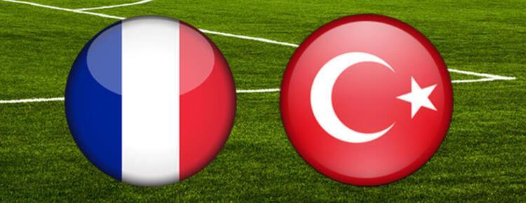 Fransa-Türkiye milli maç