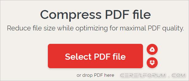 PDF sıkıştırma ve küçültme