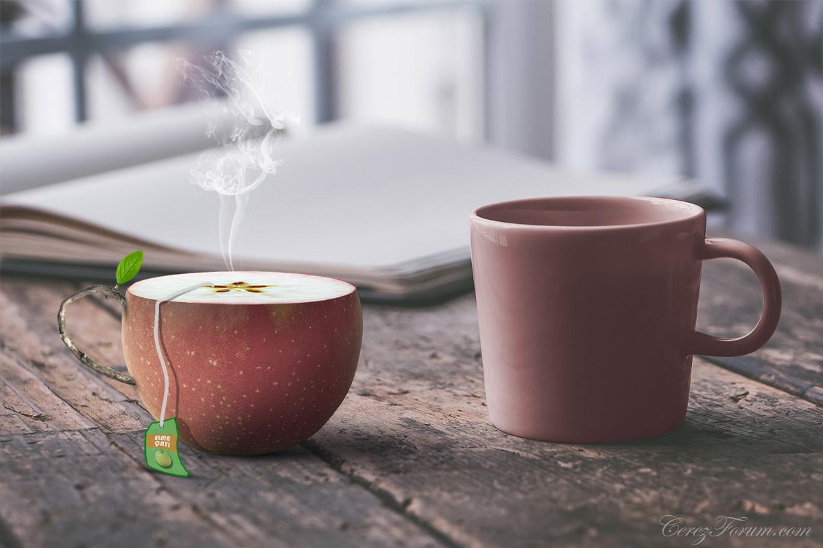 Photoshop, elma çayı