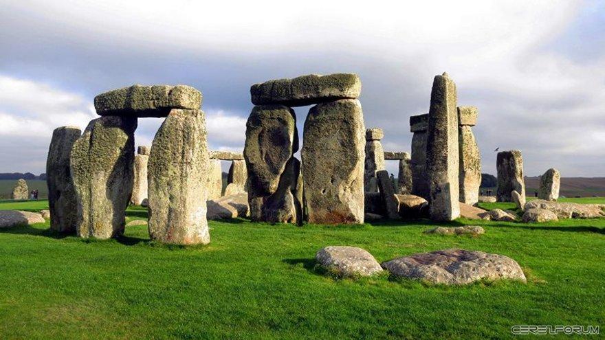 İngiltere'deki Stonhenge